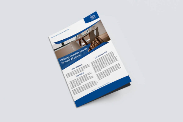 Finch Financial Brochure Design